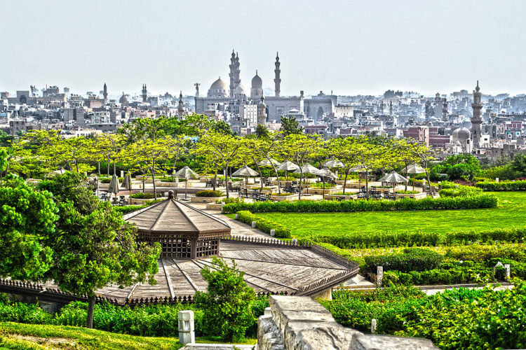 What to see in Egypt - Al-Azhar Park