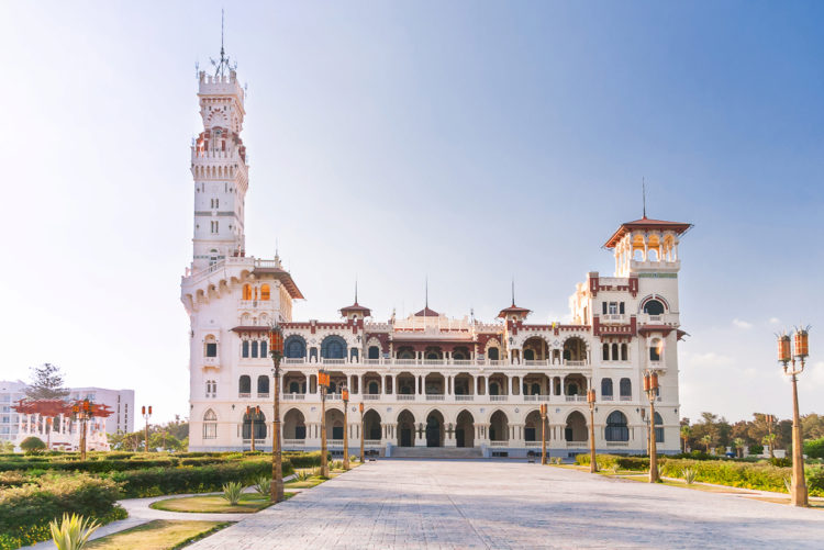 Egyptian Attractions - Montaza Palace and Park