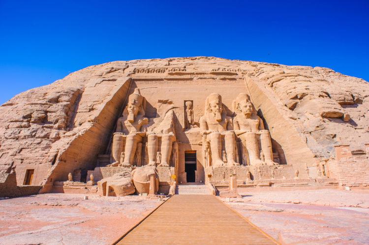 Sights of Egypt - Temple of Ramses II in Abu Simbel