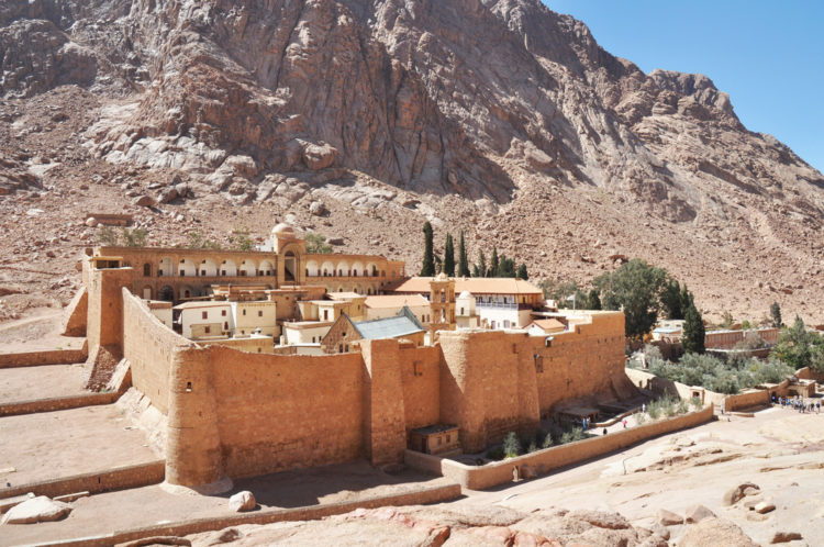 Sightseeing in Egypt - St. Catherine's Monastery