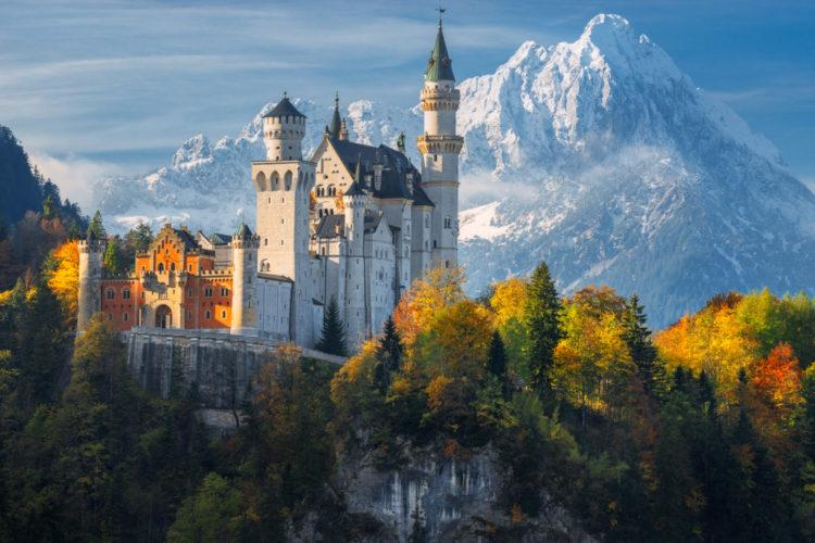 German Landmarks - Neuschwanstein Castle