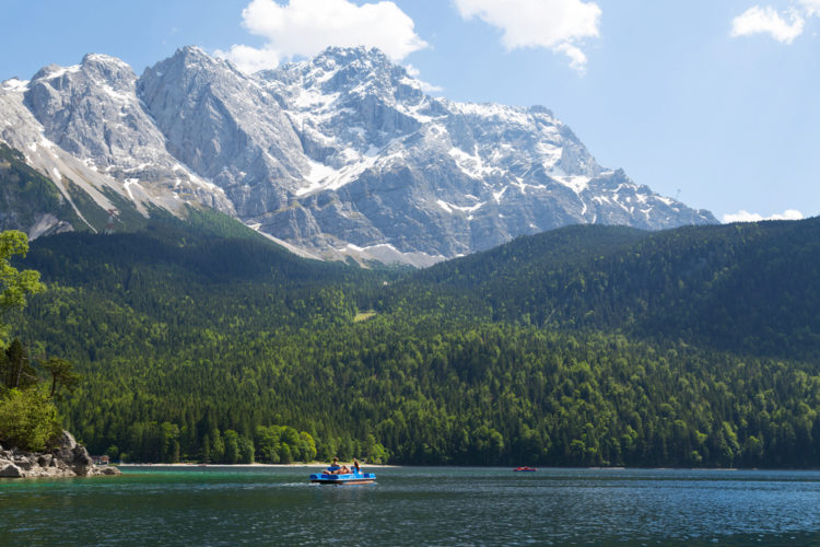 Sightseeing in Germany - Zugspitze