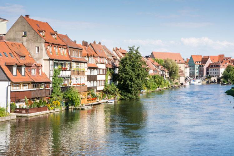 "Bamberg sights - ""Little Venice"""