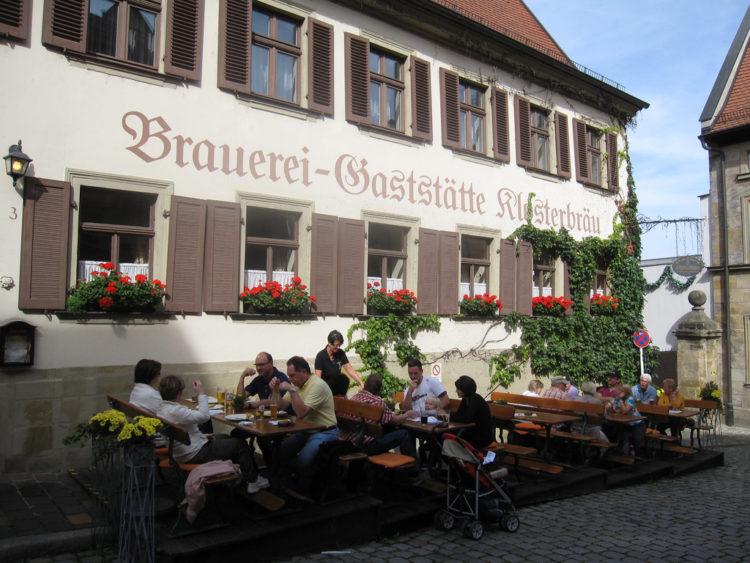 Bamberg Sightseeing - Brewery - Klosterbrau Restaurant