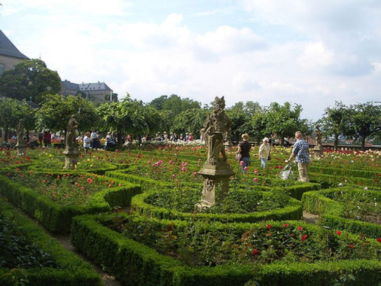 What to see in Bamberg - Rose Garden in Bamberg
