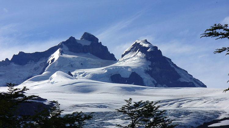 Tronador extinct volcano in Nahuel Huapi National Park in Argentina. South America