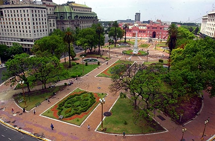 Plaza Plaza de Mayo Buenos Aires in Argentina, South America