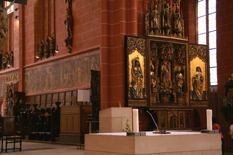 St. Bartholomew's Cathedral in Frankfurt am Main - sights of Frankfurt, Germany