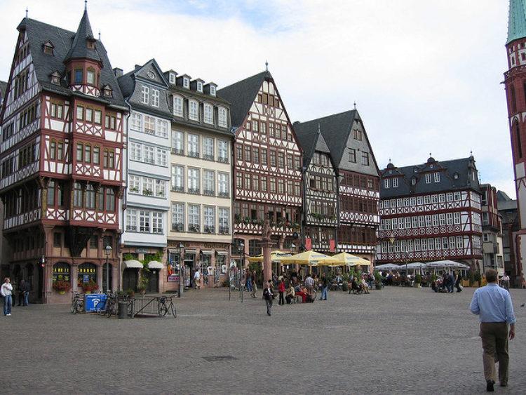 Romerberg Square in Frankfurt am Main - sights in Frankfurt, Germany