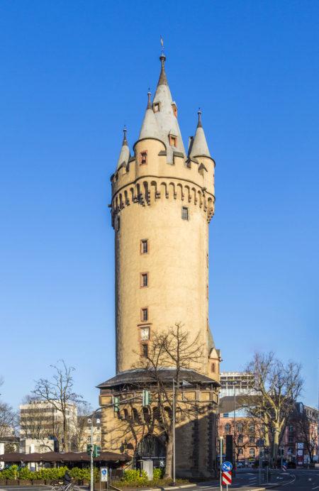 The Eschenheimer Tower in Frankfurt am Main, Germany