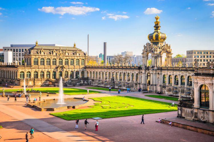 Zwinger - Sights of Dresden