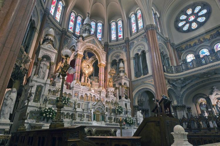 Basilica Santísimo Sacramento - Buenos Aires landmarks