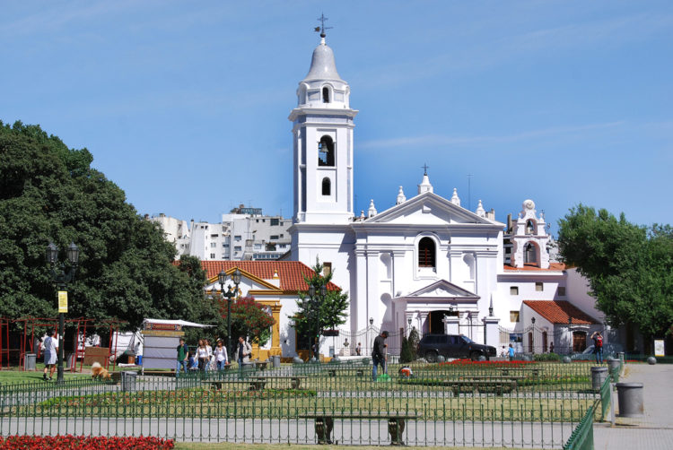 Basilica of Nuestra Señora del Pilar - Buenos Aires attractions