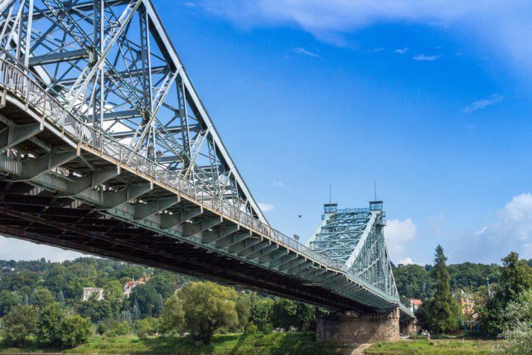 Loschwitz Bridge - Dresden Landmarks