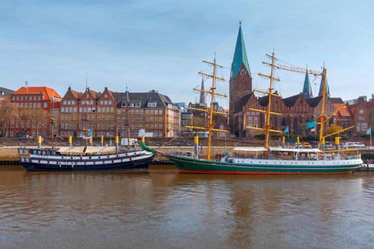 Schlachte Embankment - What to see in Bremen