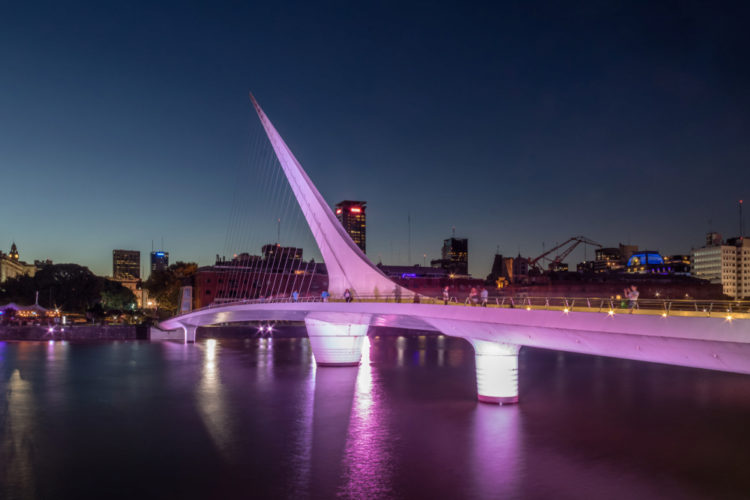 Bridge of Women - What to see in Buenos Aires