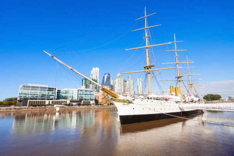 Frigate President Sarmiento - Buenos Aires attractions