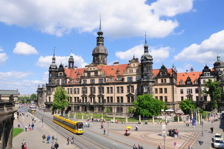 Dresden Castle Residence - Sightseeing in Dresden