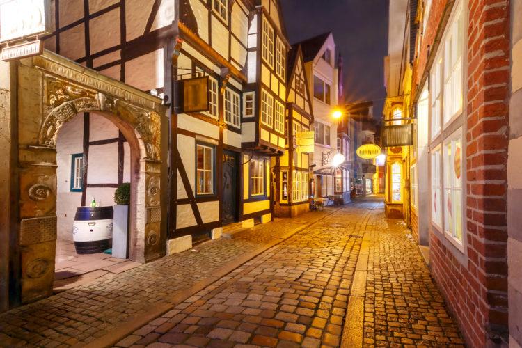 District Schnor - Bremen sights