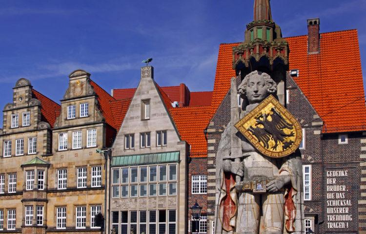 Statue of Roland - Bremen Landmarks