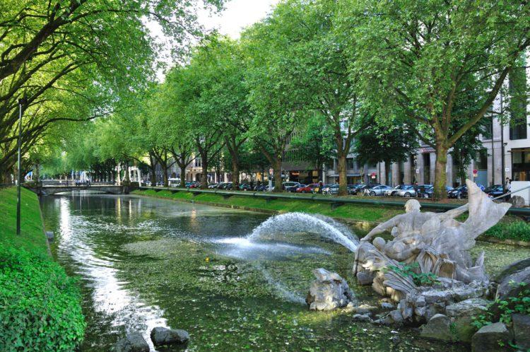 Royal Alley - Dusseldorf Landmarks