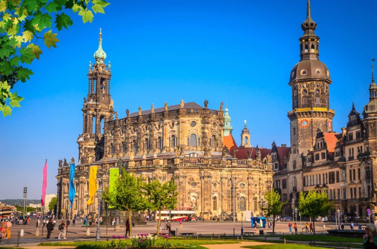 Hofkirche - Catholic court church - Dresden sights