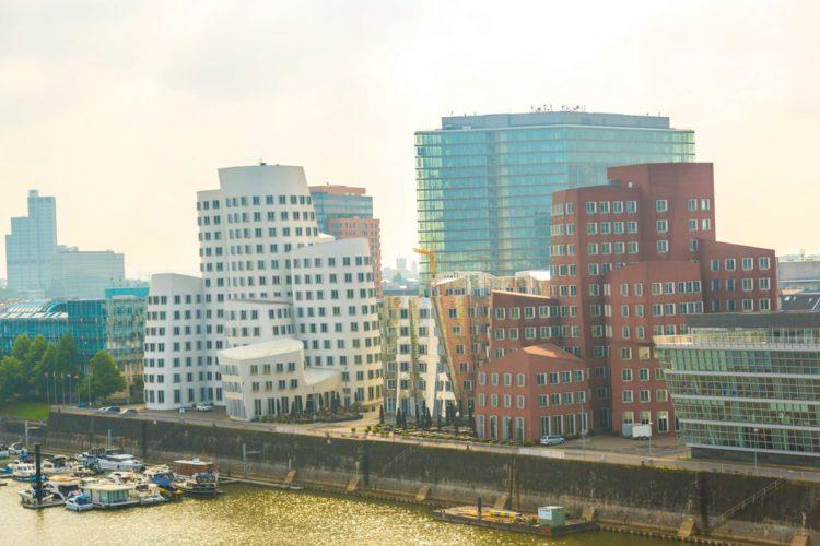 New Customs - Dusseldorf Landmarks