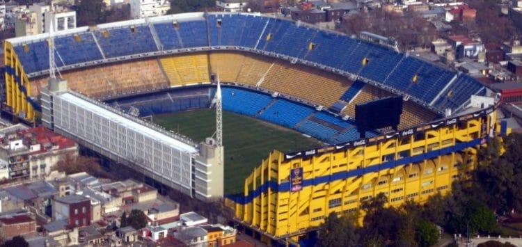Bombonera Stadium - Buenos Aires landmarks