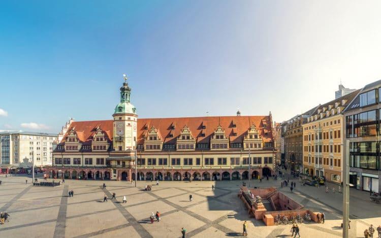 Old City Hall - Leipzig sights
