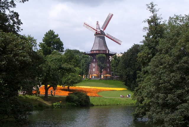 Mill on the rampart - Bremen attractions