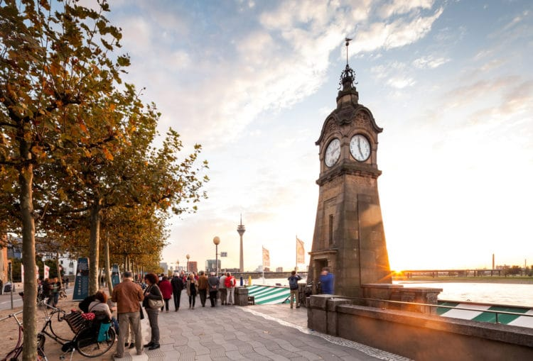 Rhine Embankment - What to see in Dusseldorf