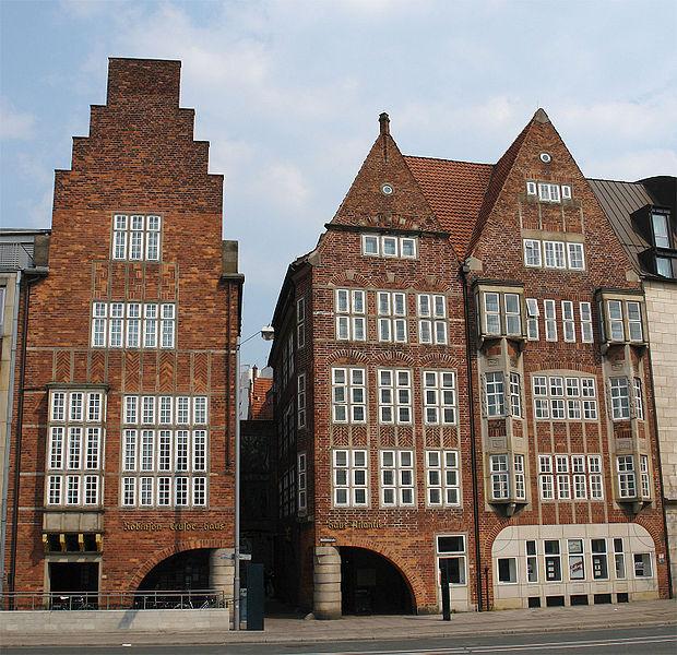Bottcherstrasse - Bremen sights