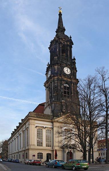 Dreikщnigskirche - Church of the Three Magi - Dresden sights
