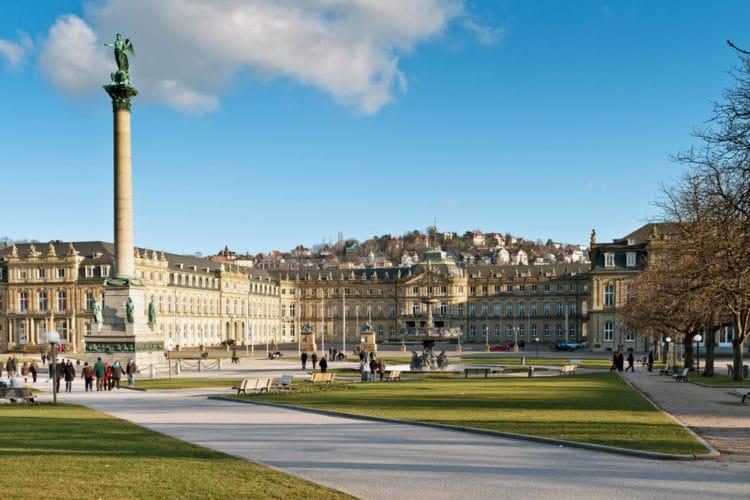 Palace Square - Landmarks of Stuttgart
