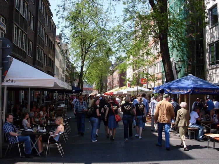 Old Town - Altstadt - Dusseldorf attractions