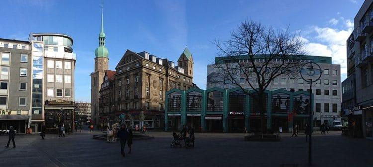 Old Market - Sights of Dortmund