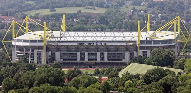Signal Iduna Park - landmarks in Dortmund
