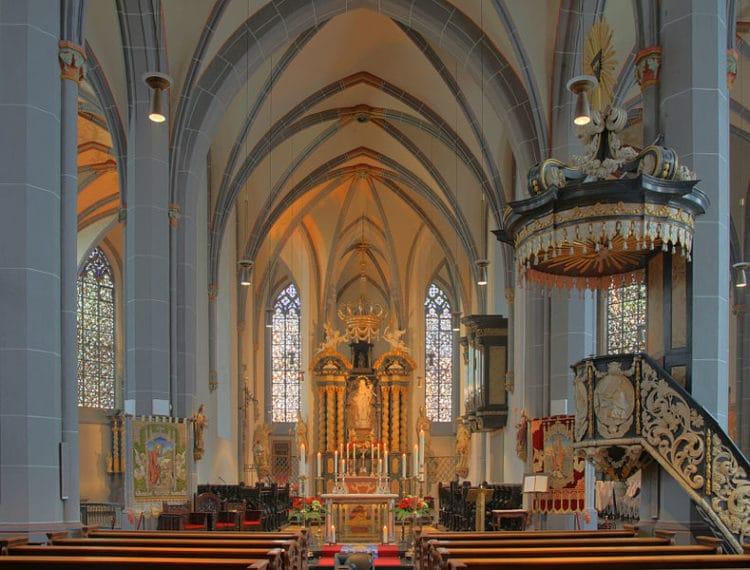 St. Lambert's Basilica - Sights of Dusseldorf