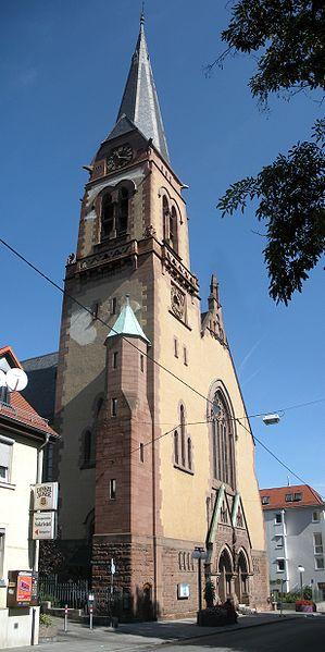 Hospital Church - Stuttgart landmarks