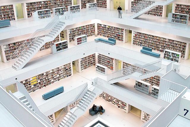 Stuttgart City Library - Stuttgart attractions