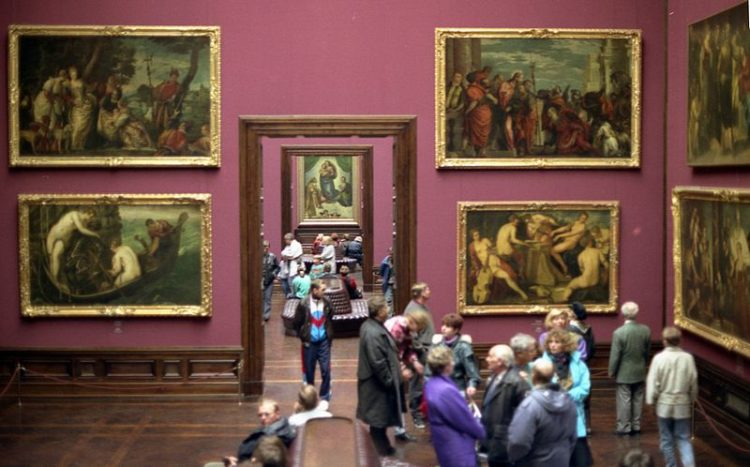 Old Masters Gallery in Germany