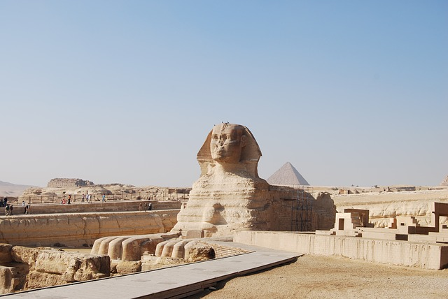 The Great Sphinx in Egypt