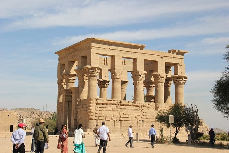 Phile Island Temples in Egypt