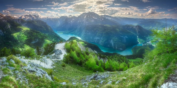 Berchtesgaden National Park in Germany