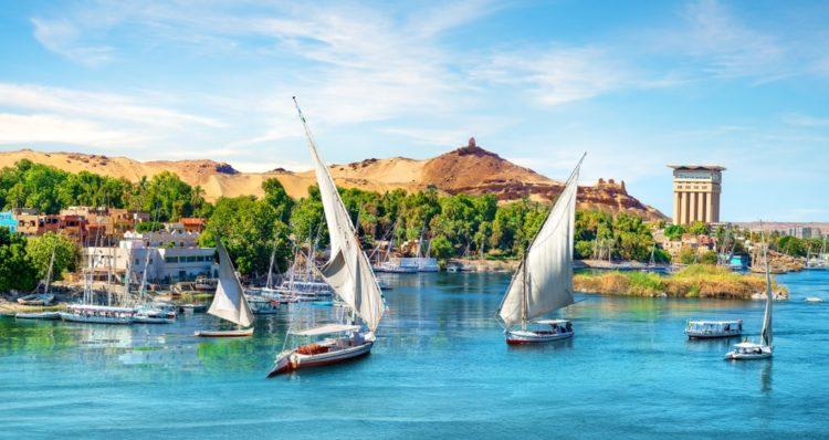 Nile River in Egypt