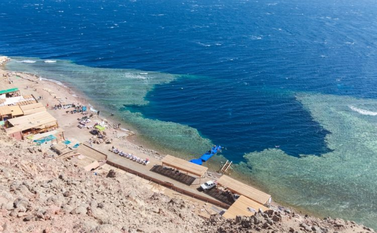 Blue Hole (Red Sea) in Egypt