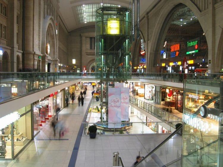 Leipzig Main Station - Leipzig sights