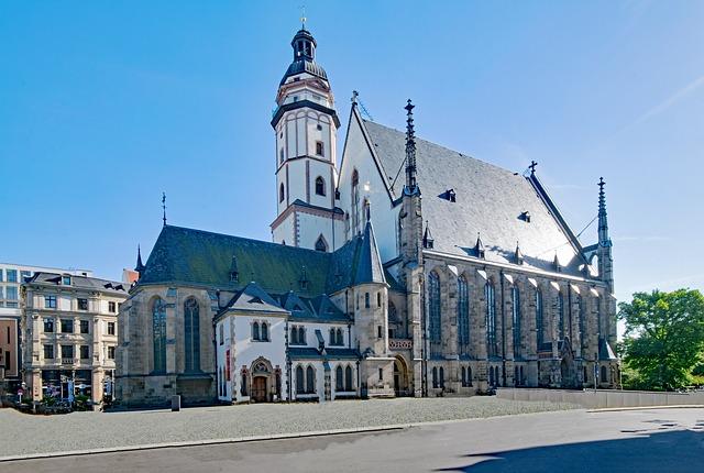 St. Thomas Church - Landmarks in Leipzig