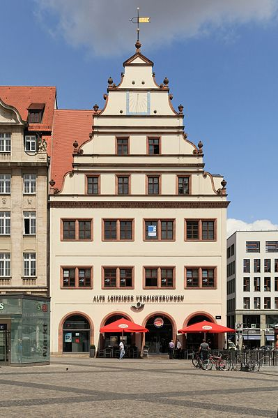 Alte Waage - Landmarks of Leipzig