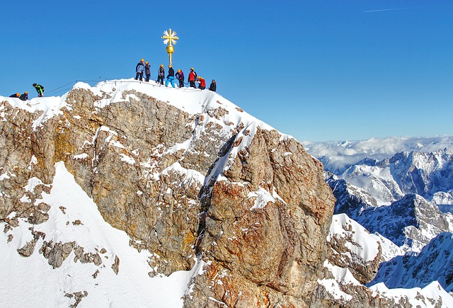 The Zugspitze in Germany
